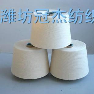 12支环锭纺涤纶纱图片