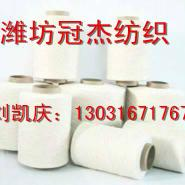 环锭纺R65/C35棉粘纱16支混纺图片