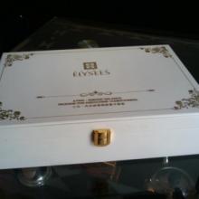 供应原色时尚珠宝盒创意zakka杂货实木高档木制珠宝佛珠盒包装批发