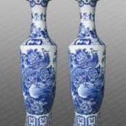 景德镇正德陶瓷大花瓶图片