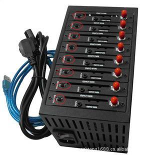 销售16口调制解调器 GSM MODEM USB接口送软件
