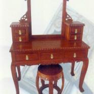 古典家具卧房系列梳妆台图片