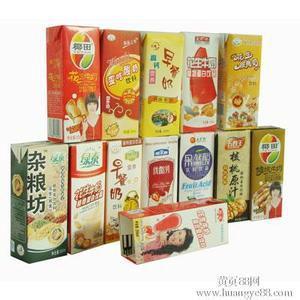 供应上海每小时3000盒砖型纸盒包装机,200毫升砖型纸盒包装机的价格图片