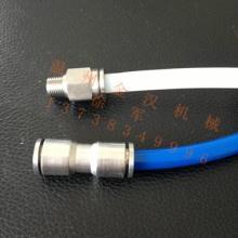供应不锈钢PC直通管接头,不锈钢快插接头,不锈钢气动接头