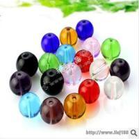 供应14mm水晶光珠批发 珠帘散珠配件 饰品珠子 玻璃珠子厂家批发