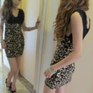 豹纹包臀短裙豹纹性感小妹裙特批图片