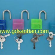 塑料心形锁五金锁密码锁图片
