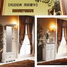 供应卧室简欧穿衣镜鞋柜  广东品质简欧家具系列