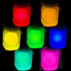 供应五星行稀土夜光粉颗粒夜光粉硅胶夜光粉塑料专用夜光粉