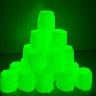 透明塑料盒PP专用发光粉图片