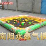 供应荆州充气儿童蹦蹦床水池