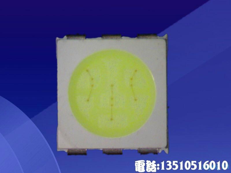 供应5050冰蓝灯灯珠汽车灯光源5050贴片灯珠高品质16-18LM低衰减寿命长