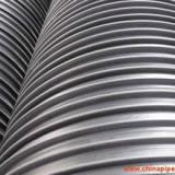 HDPE塑钢缠绕管订做