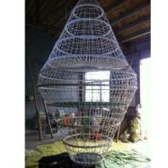 鸟巢拓展攀爬网图片