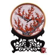 京景景泰蓝20寸梅花盘图片