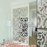 供应PVC雕花板/镂空板/隔断背景墙屏风