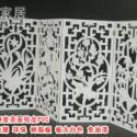 供应J50雕花板/PVC镂空板/折屏隔断