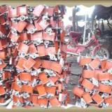 用于工地施工的建筑丝杠顶丝U型托批发,河北国标圆钢丝杠现货供应
