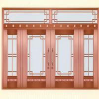 南阳铜门 商场铜门|真铜门