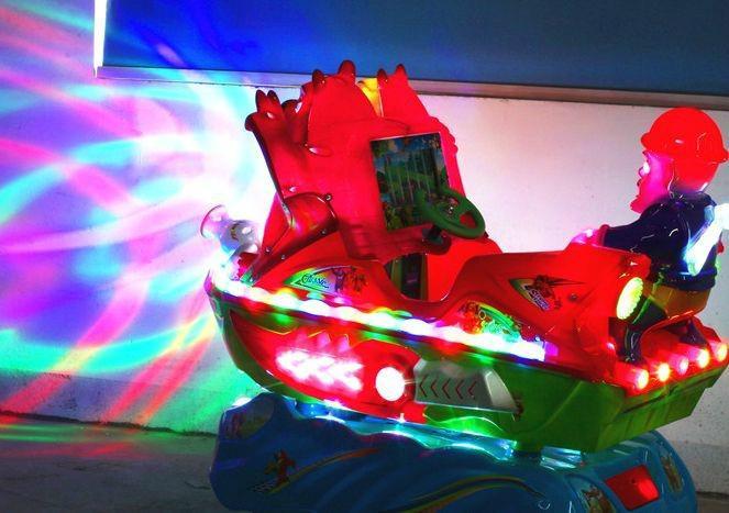 供应宝鸡凤翔美羊羊一元投币机玩具车销售儿童投币式摇摆飞机摇摆式小汽车
