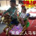 供应飞马儿童摇摇投币机可乘坐两人飞马儿童摇摇投币机销售