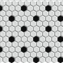 供应六角形马赛克 六角砖 室内外墙马赛克砖