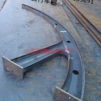 济南宾鸿钢结构供应用于小区门头|大型广场|汽车棚的牛角钢梁可定制