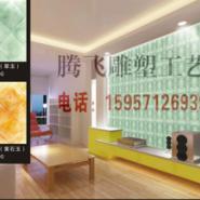 湖北玉石背景墙公司图片