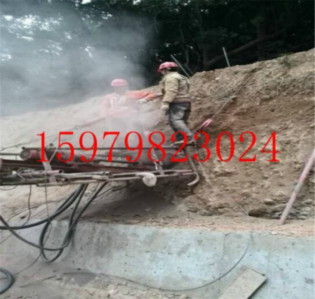 供应钢管锤进支护施工