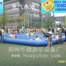 供应大型充气水池移动泳池充气沙滩池充气海洋球池