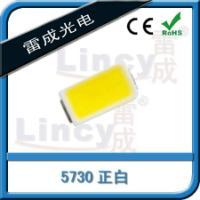 供应5730高亮0.5W正白暖白冷白水草植物灯珠 晶元5730高压灯珠