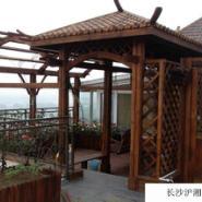 长沙防腐木成为家装市场的主流图片