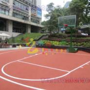 巴南区体育运动球场施工图片