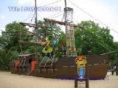 供应石柱县海盗船※重庆龙湖地产木质海盗船施工单位※江北区新玩具海盗船