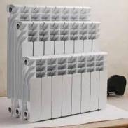 压铸铝双金属散热器暖气片UR7002图片
