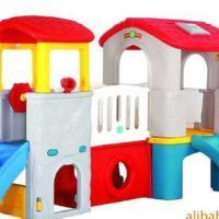 供应郑州幼教玩具组合滑梯小神童组合