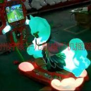 儿童摇摆机KT猫3D老爷车3D马系列图片