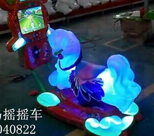 周口3D液晶屏小马摇摇车摇摆机图片