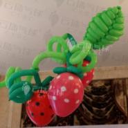 草莓节气球/草莓气球/水果气球造型图片
