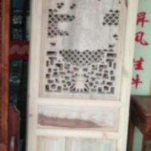 供应木雕花门窗批发