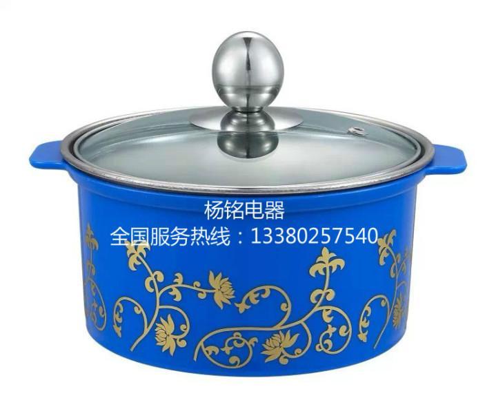 特价护套防烫锅 不锈钢迷你小火锅电磁炉专用汤锅鸳鸯锅16cm