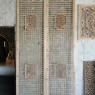 东阳木雕花格定制图片