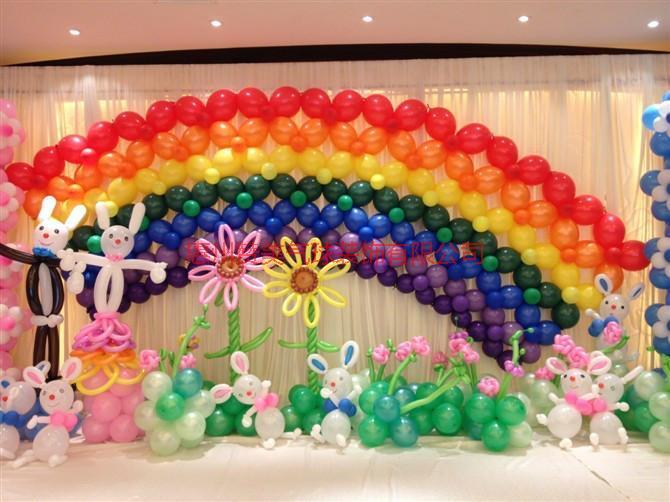 供应广东惠州浪漫气球婚礼拱门气球装饰