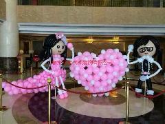 惠州专业婚礼气球装饰,惠州婚房气球布置公司,,惠州婚房气球装饰价
