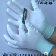 13针尼龙手套图片