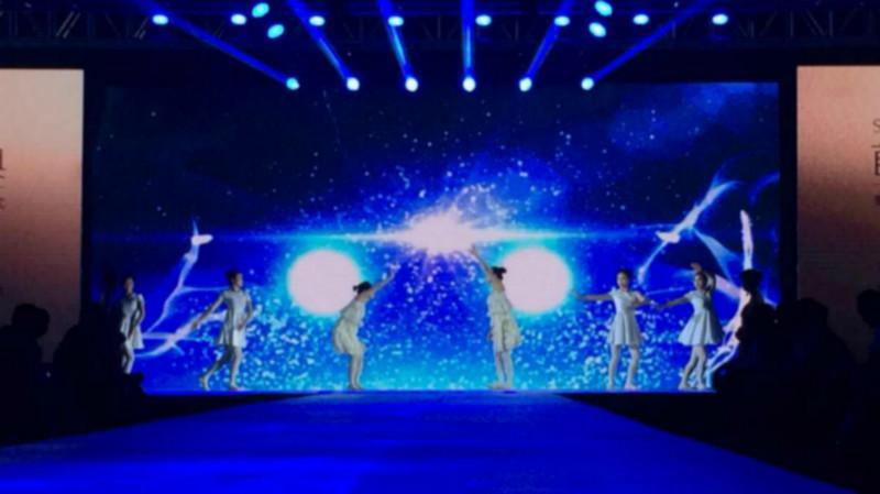上海年会创意开场节目星空畅想图片图片