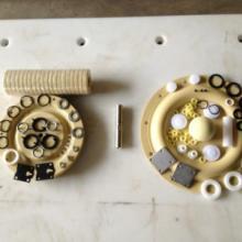 供应隔膜泵配件滑阀隔圈架垫圈首选东达