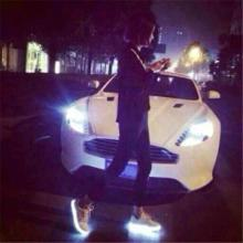 供应五星行女款荧光鞋nb荧光鞋多少钱帆布鞋荧光