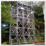 供应组合式爬梯铝架 轻型工作架 易搭易拆