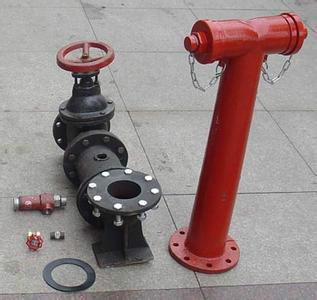 4),消防水泵接合器和消火栓的位置标志应明显,栓口的位置应图片